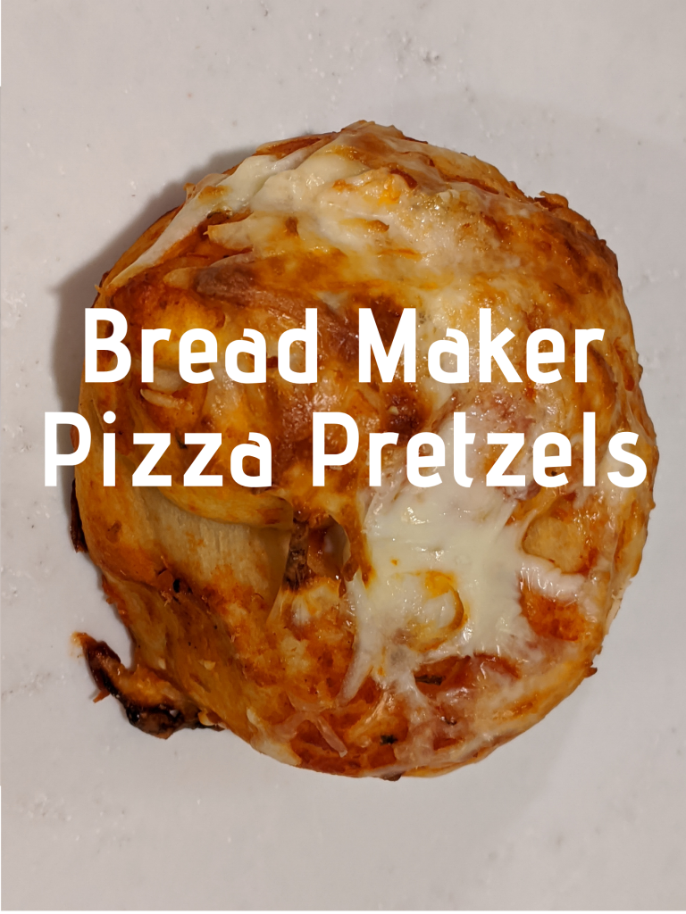 Bread Maker Pizza Pretzels Recipe