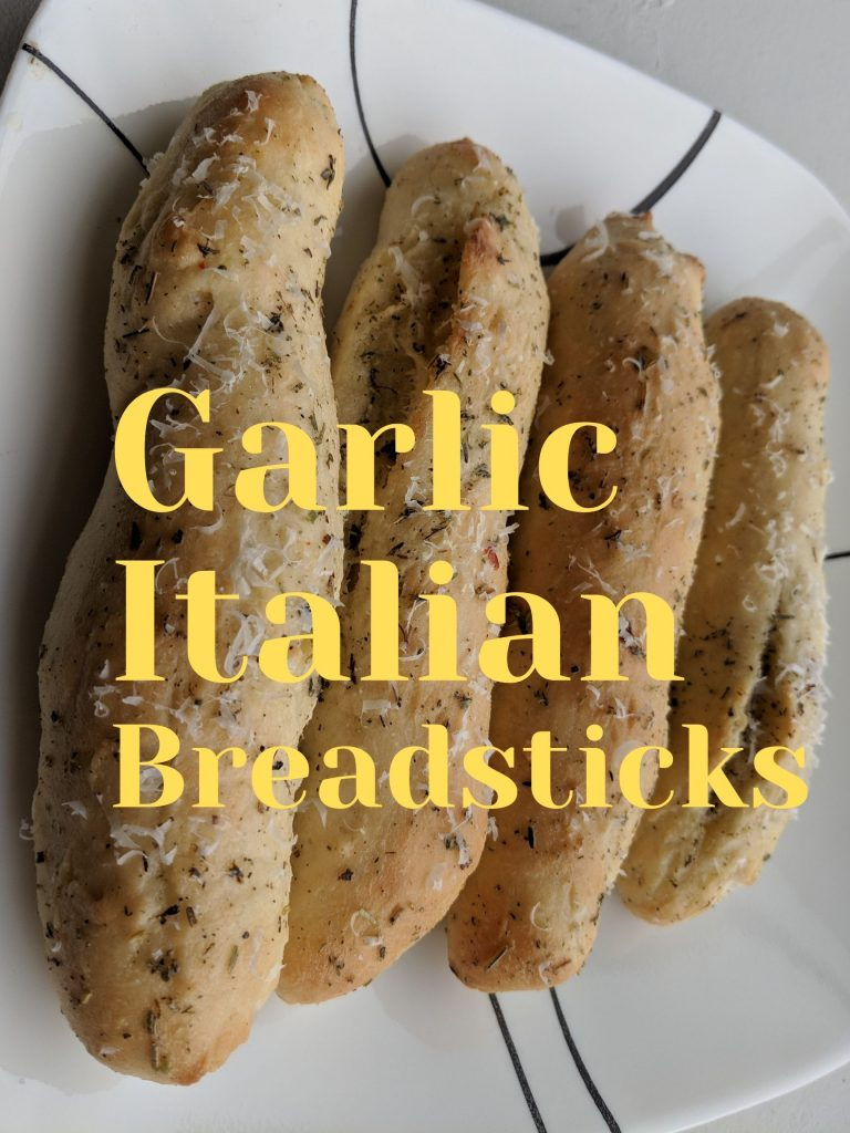 GARLIC ITALIAN BREADSTICKS