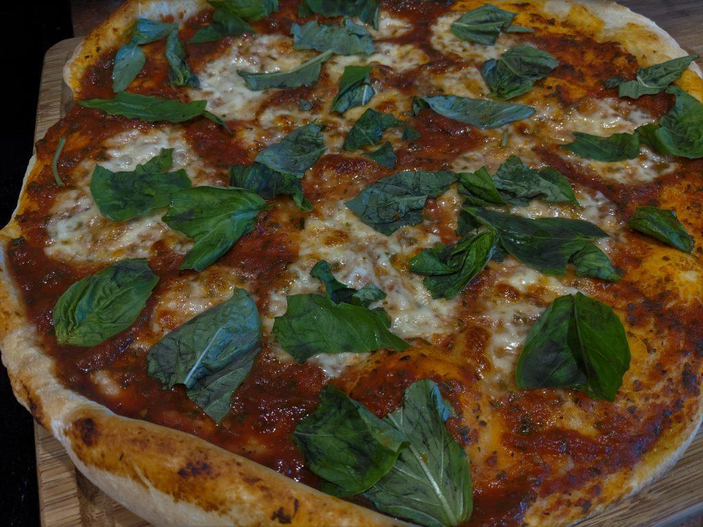 margarita pizza homemade