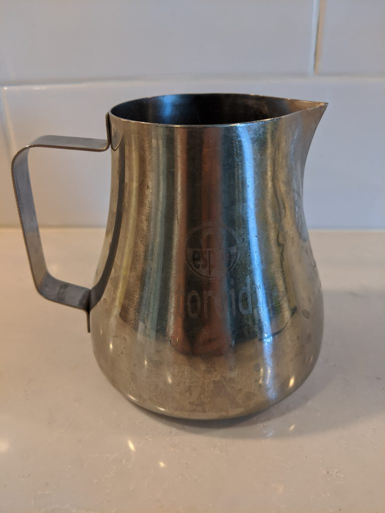 best milk steaming pitcher