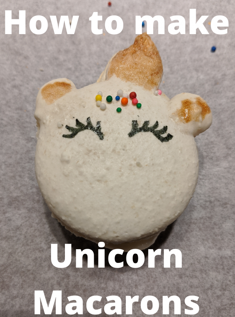 How to make Unicorn Macarons
