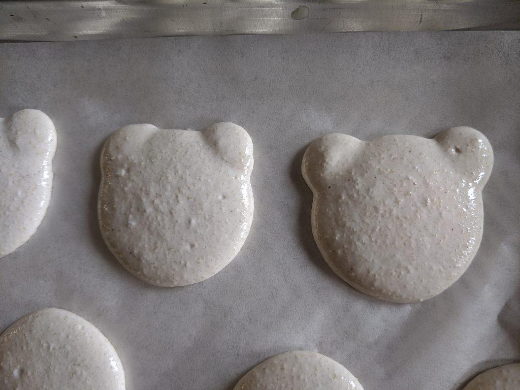bear macaron batter how to make character macarons