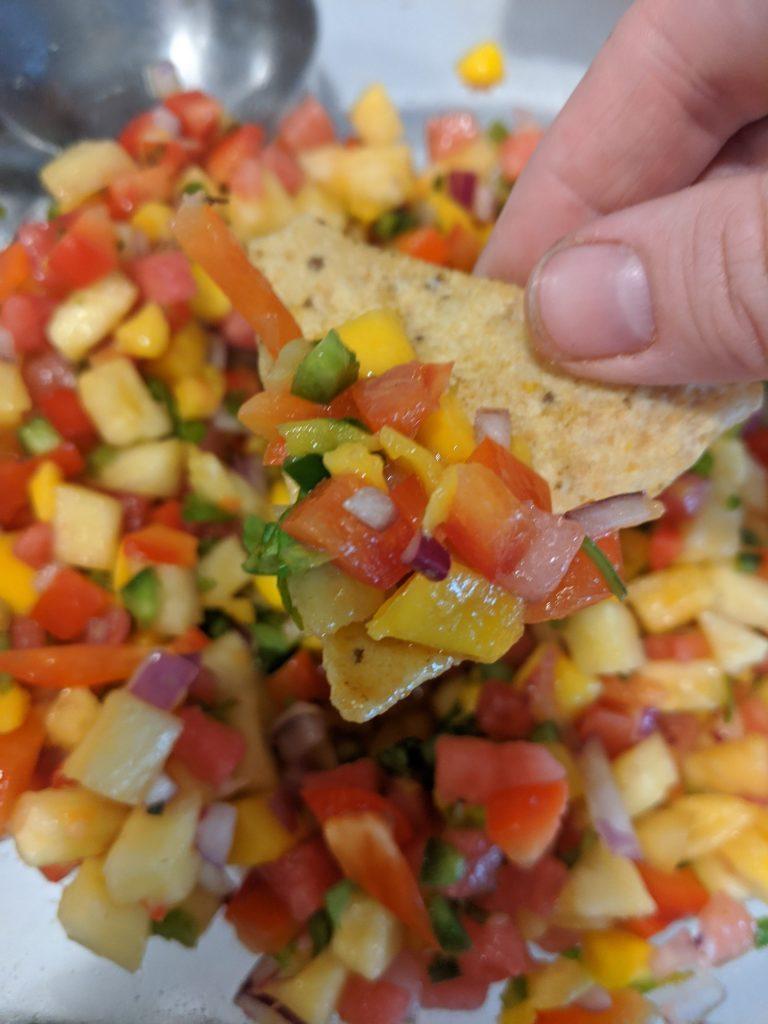 fresh watermelon salsa recipe