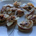 raw apple appetizer