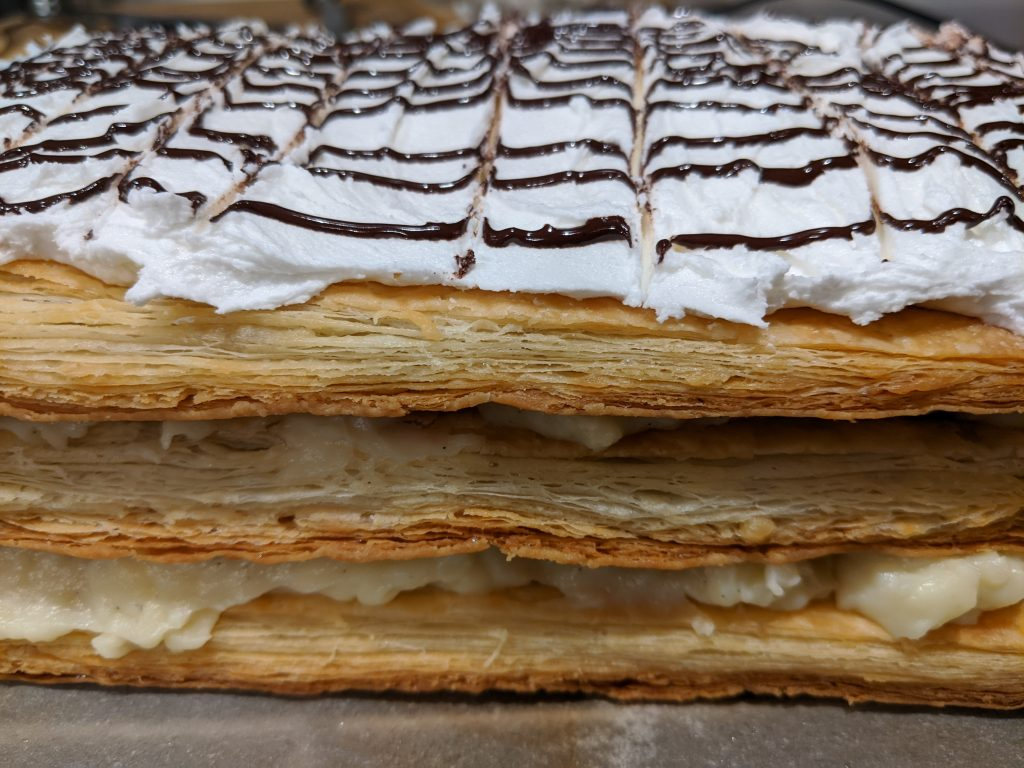 eggless puff pastry recipe