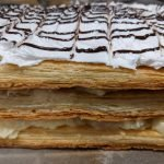 layered french dessert eggless puff pastry recipe