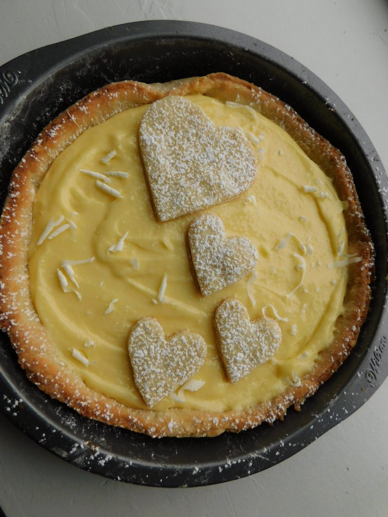 Lemon Tart Garnish Ideas