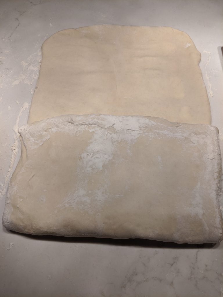 how to fold croissant dough
