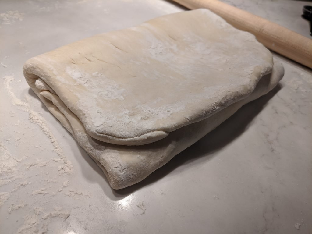 how to laminate croissant dough