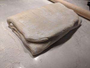 how to laminate croissant dough