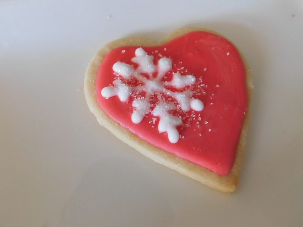 how to make beautiful Christmas cookies