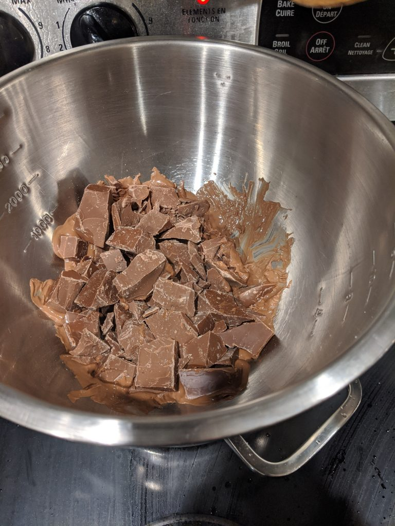 How to keep chocolate bark from melting