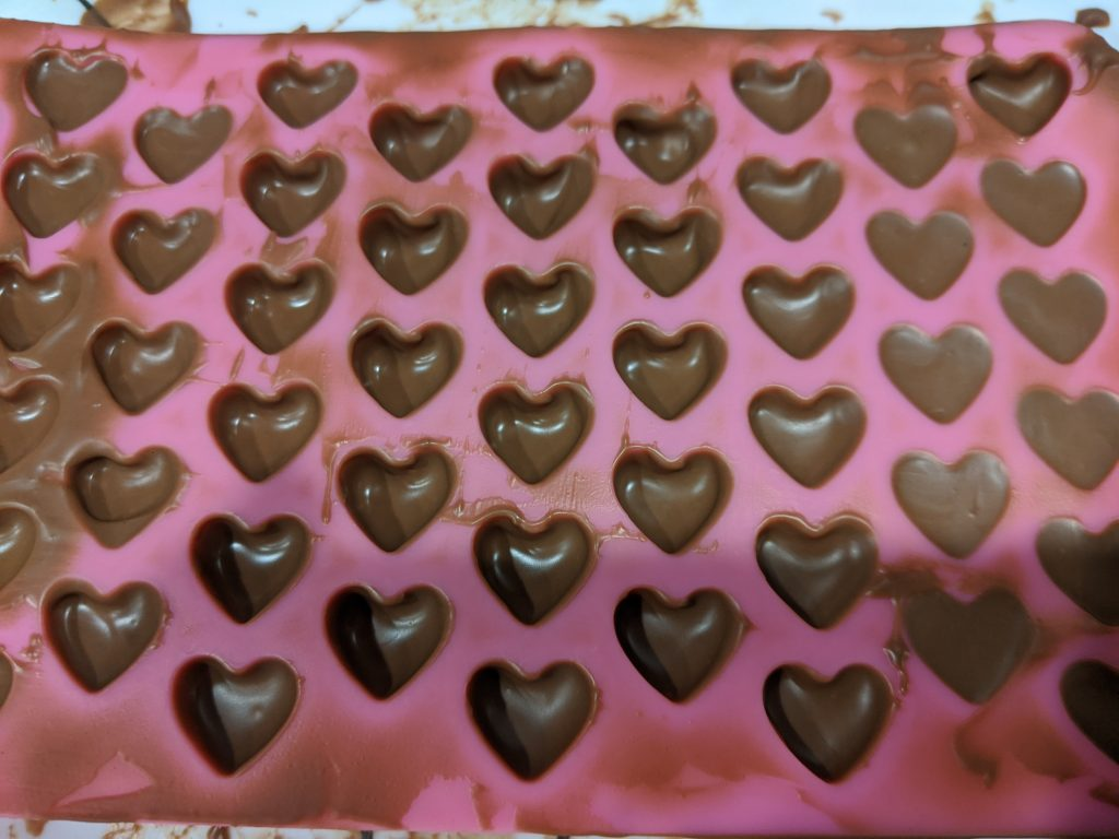 How to temper chocolate for molds