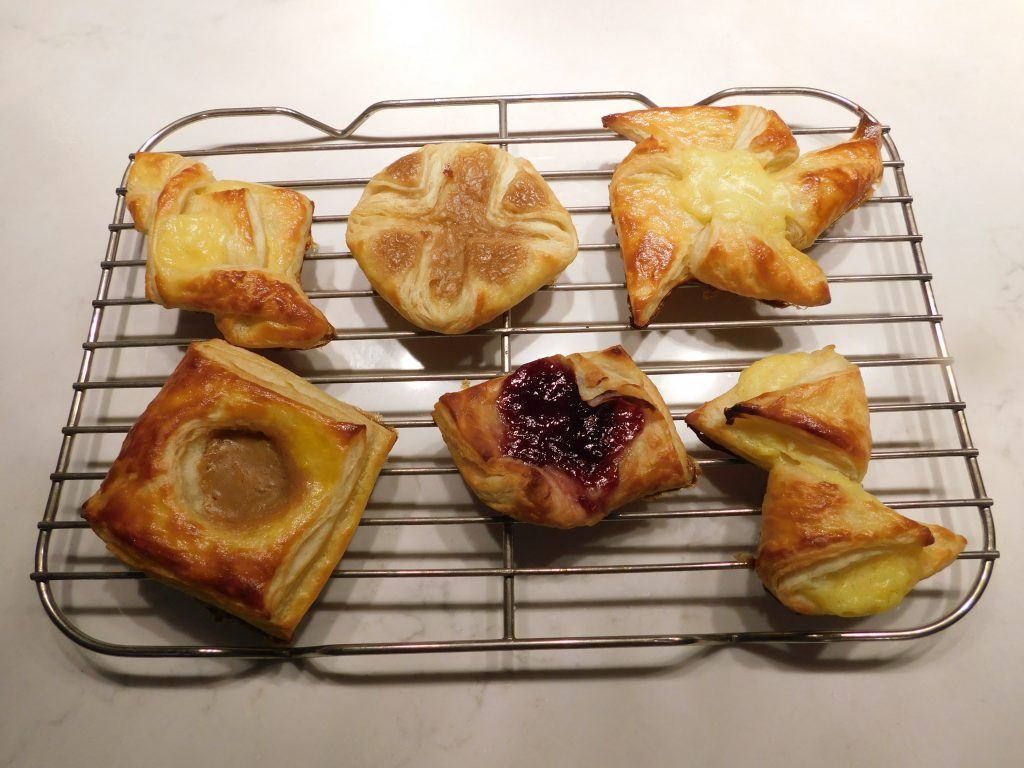 14 Types of Danish pastries