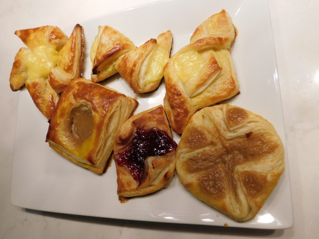 6 Classic Danish Pastry Shapes