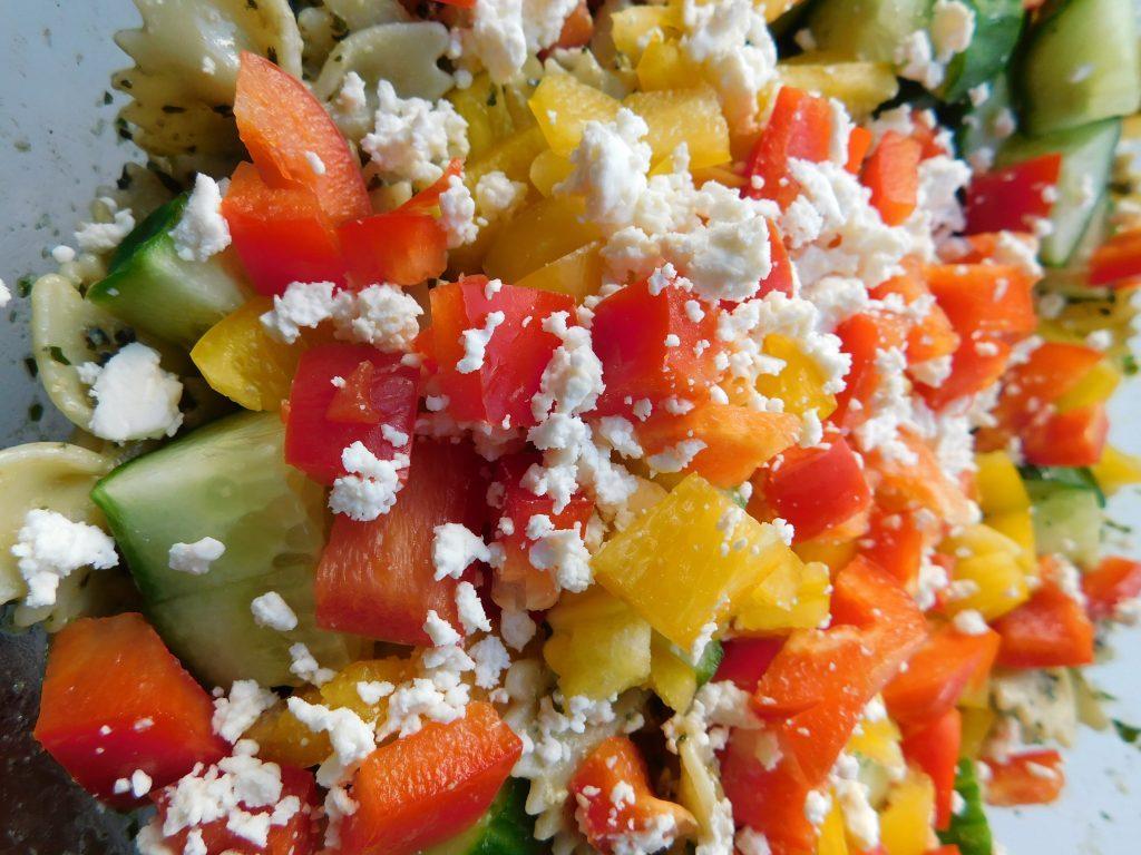 Pesto Bow Tie Pasta Salad