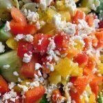 Pesto Bowtie Pasta Salad