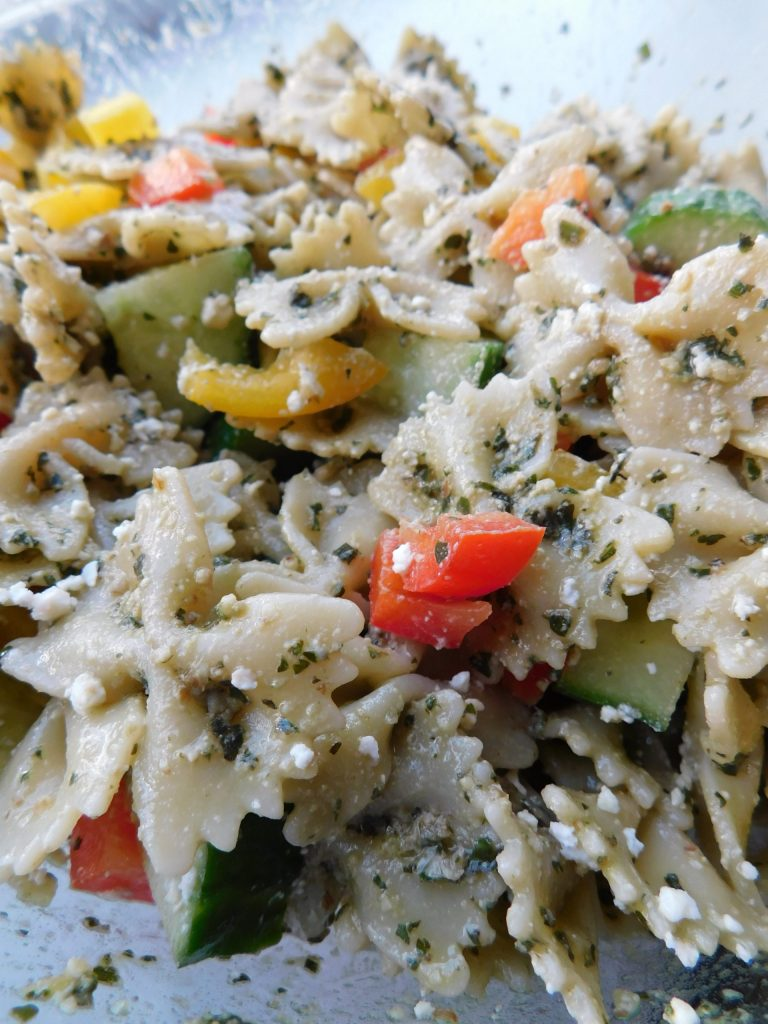 Can you make pasta salad the night before