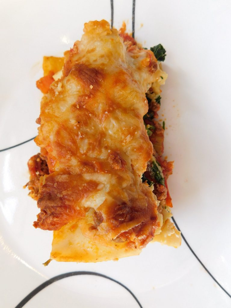 Do you bake lasagna covered or uncovered