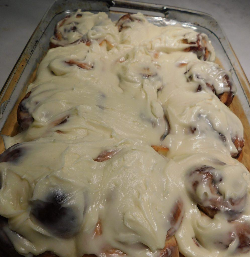 Cream Cheese Icing for Cinnamon Rolls