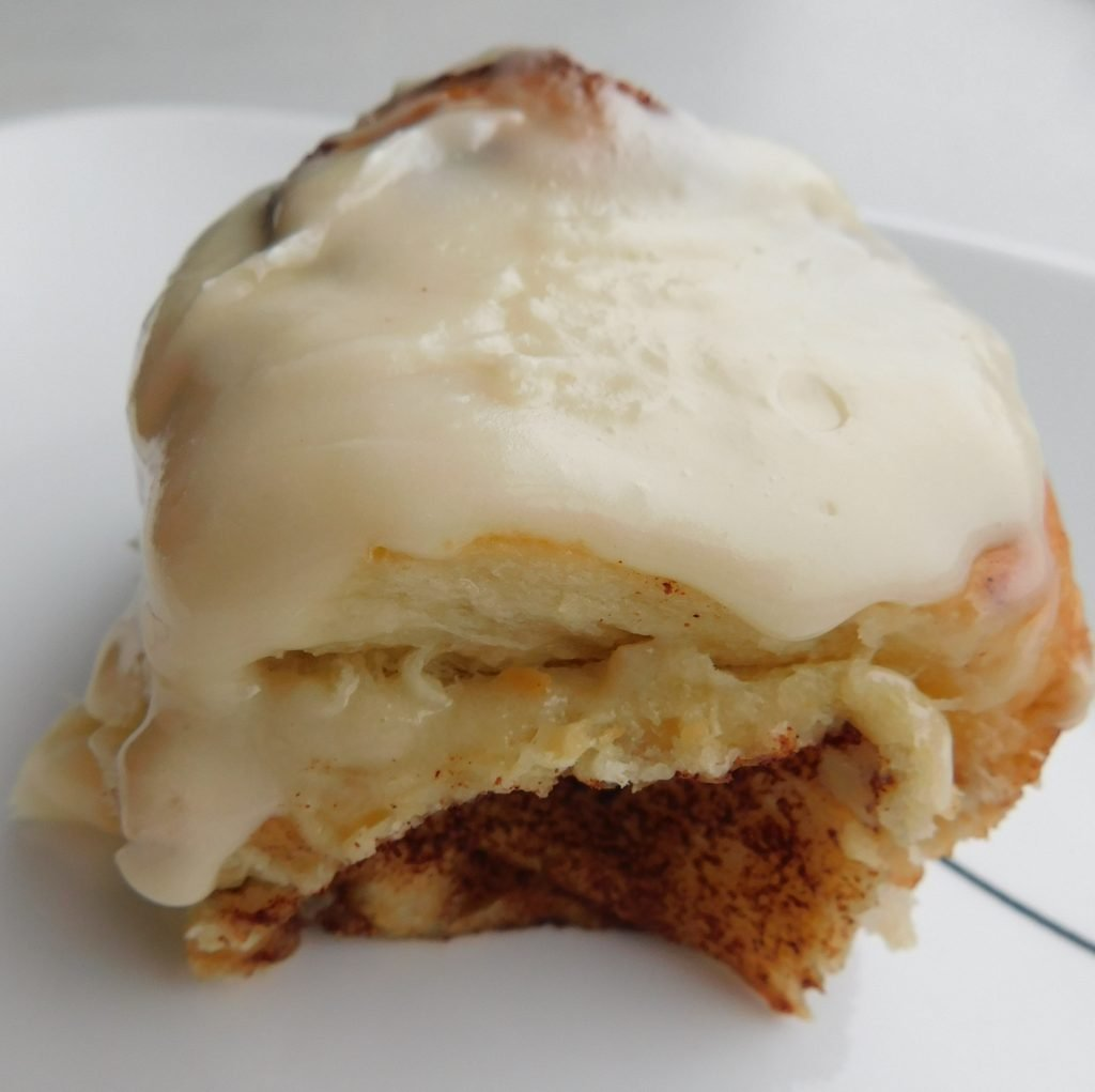 What is cinnamon roll icing made of