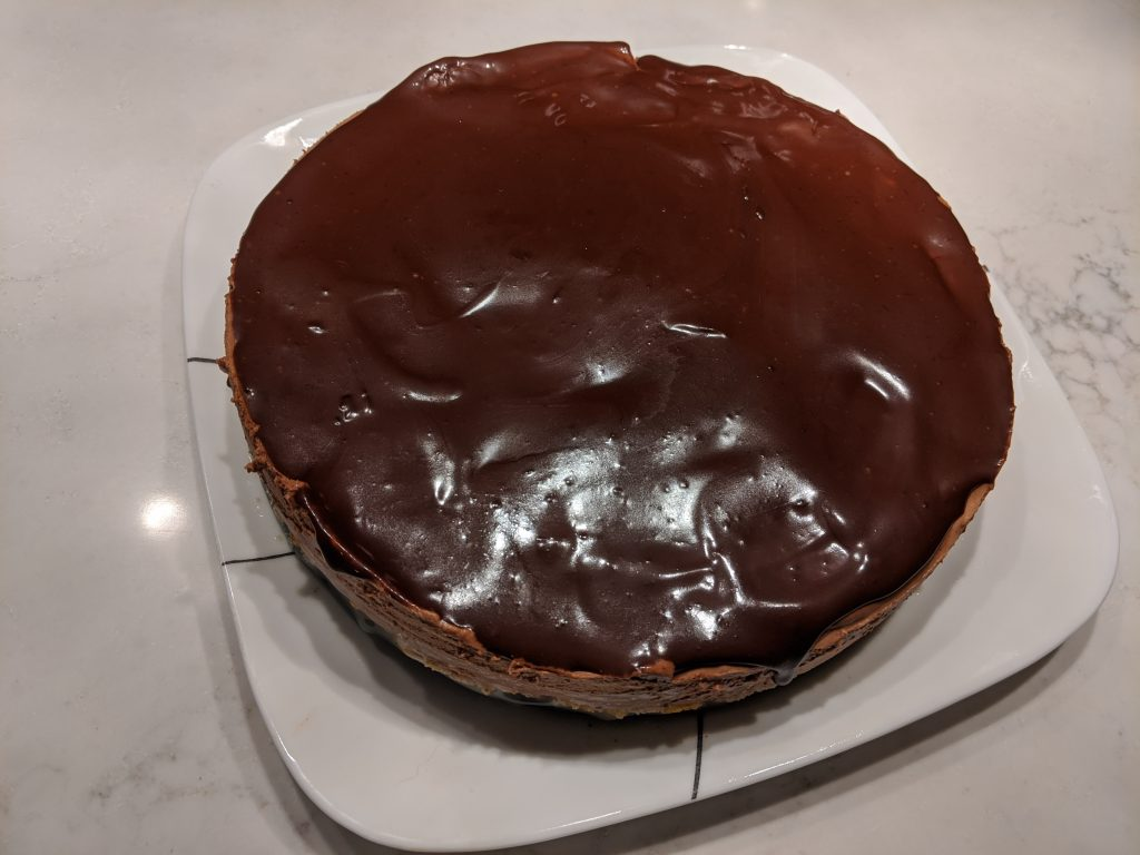 How to store a chocolate ganache cake