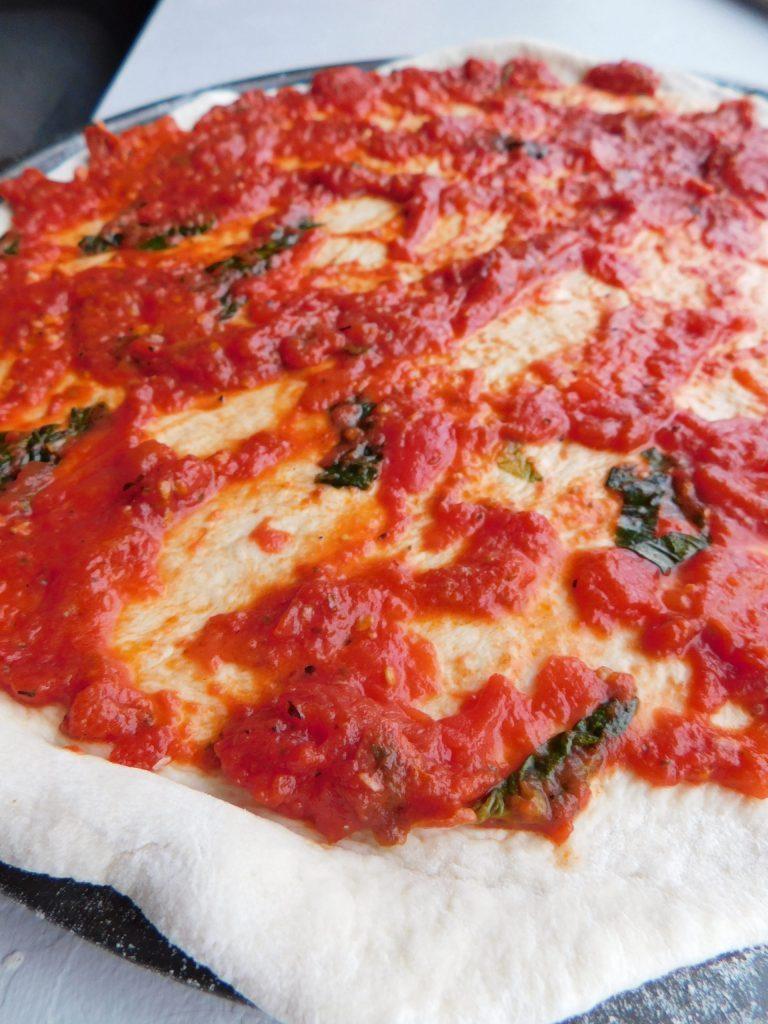 how to make San Marzano pizza sauce