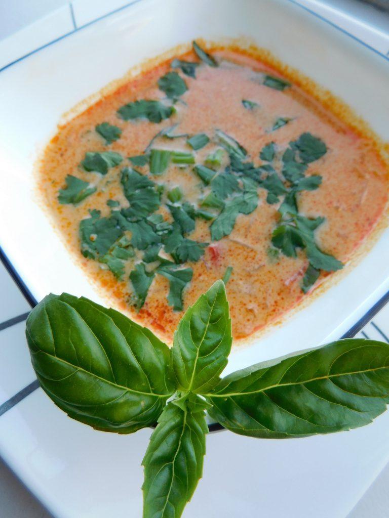 Thai Coconut Soup Vegetarian