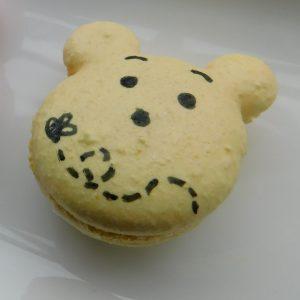bear macaron template