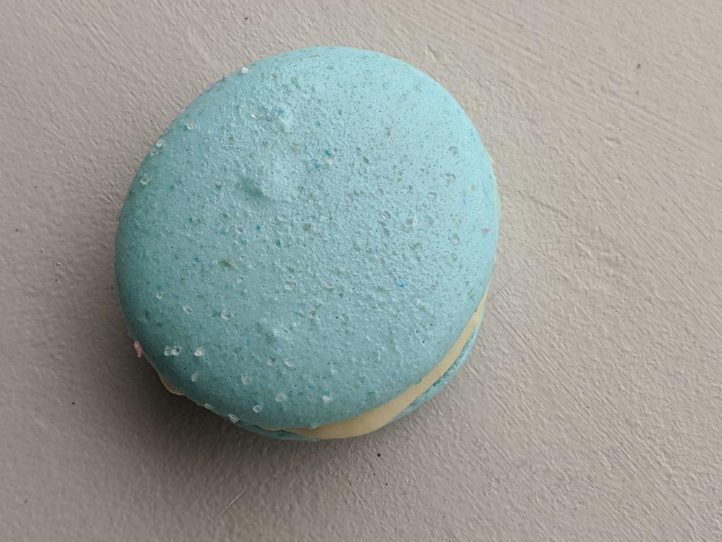 Blue Macarons Flavors